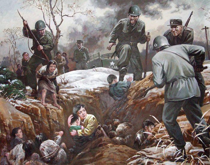Anti American North Korean Propaganda (13 pics)