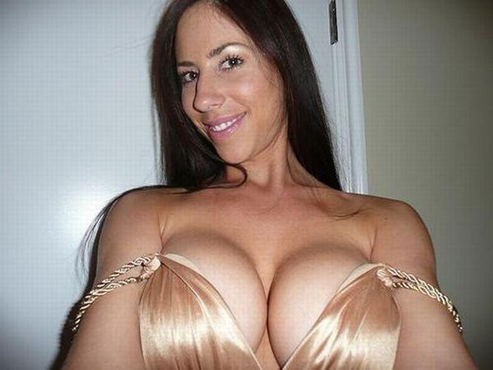 Milf tits cleavage 7