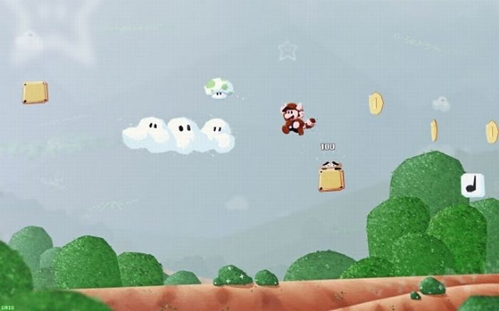Classic Video Games Redrawn (31 pics)