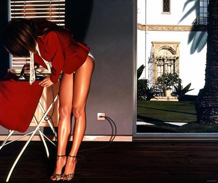 Hyperreal Paintings (55 pics)