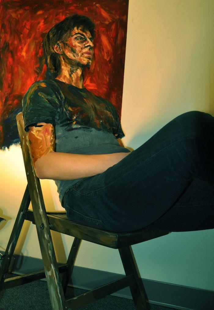 Acrylic on Flesh (21 pics)