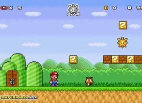 Super Mario Scramble