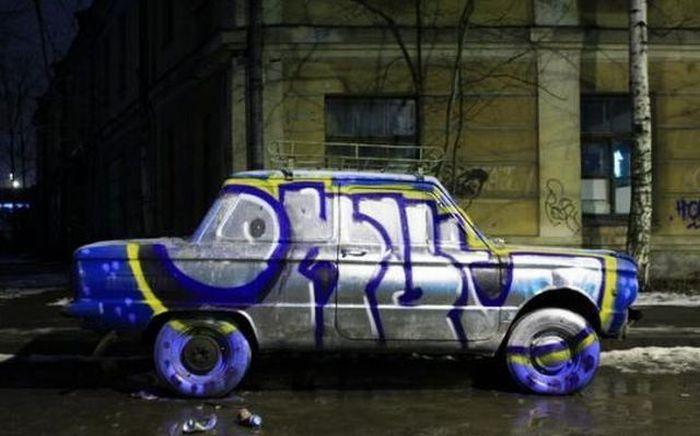 Crazy Russian Cars (56 pics)
