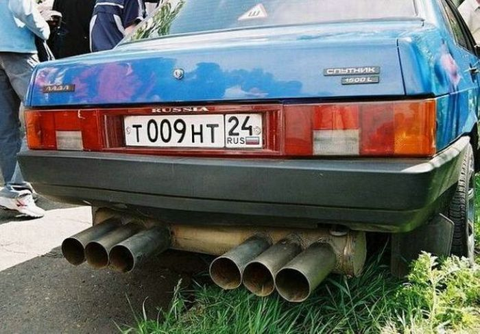 Crazy Russian Cars (56 pics)