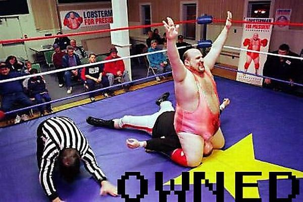 Funniest Wrestling Photos Of All Time (20 pics)