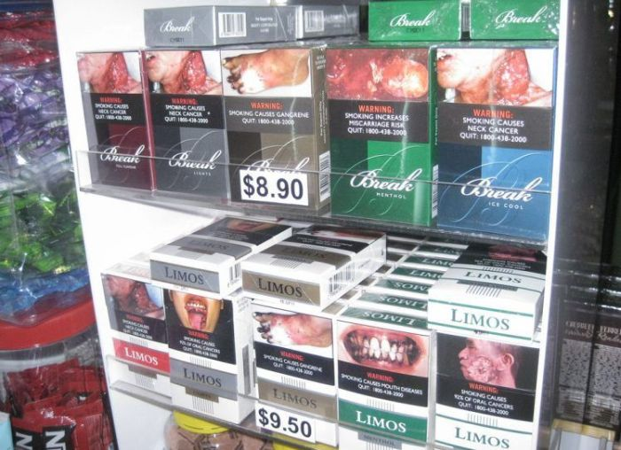 Scary Anti-Tobacco Pictures in Singapore (13 pics)