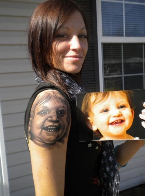 The Worst Baby Tattoos Ever (11 pics)