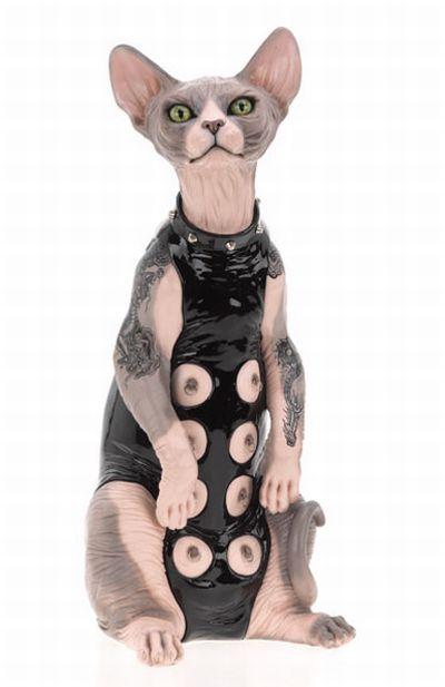BDSM Cats (9 pics)