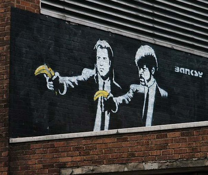 The Best of Banksy (78 pics)