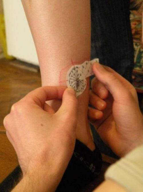 Сool Dandelion Tattoo (11 pics)