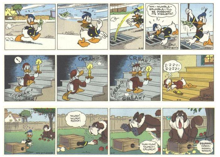 The Adventures of Donald Duck (28 pics)