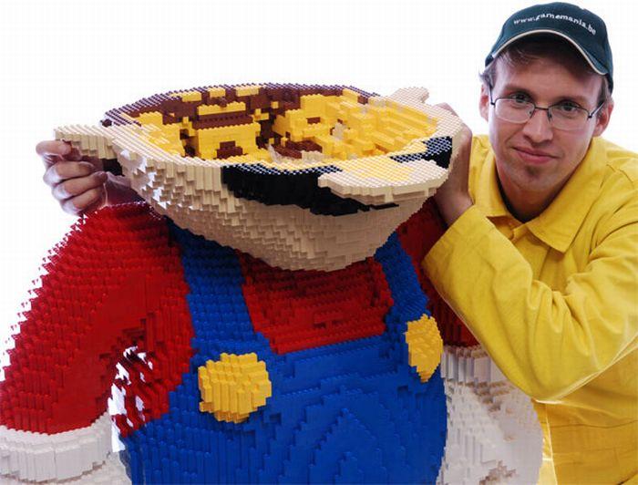 Lego Super Mario (10 pics)