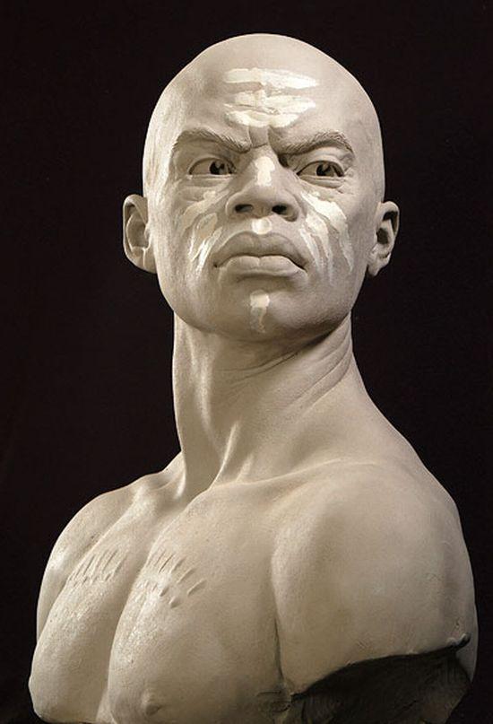 Portrait Sculptures by Philippe Faraut (30 pics)