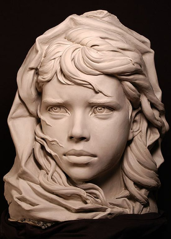 Portrait Sculptures by Philippe Faraut (30 pics)