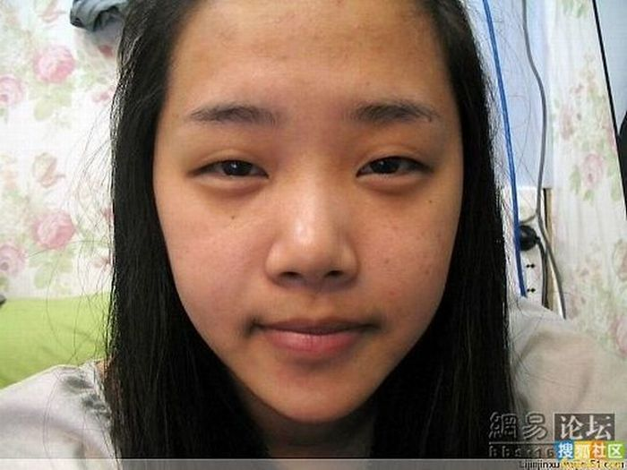 Asian Girl Before And After Makeup 13 Pics-1094