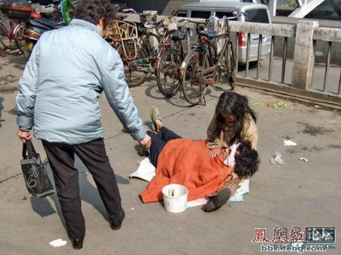 Cheating Beggars. Part 2 (12 pics)