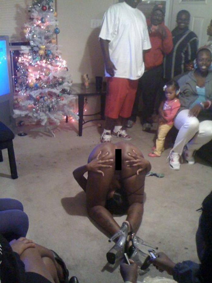 Crazy Christmas  Party (1 pic) NSFW