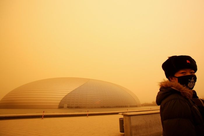 Sand Storm in China (16 pics)