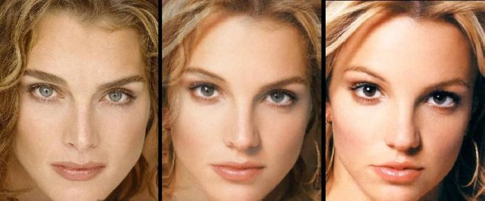 Hot Face Morph Mashups of Celebrities (20 pics)