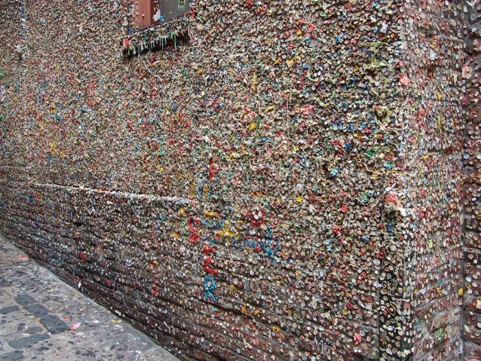 Seattle Gum Wall (12 pics)