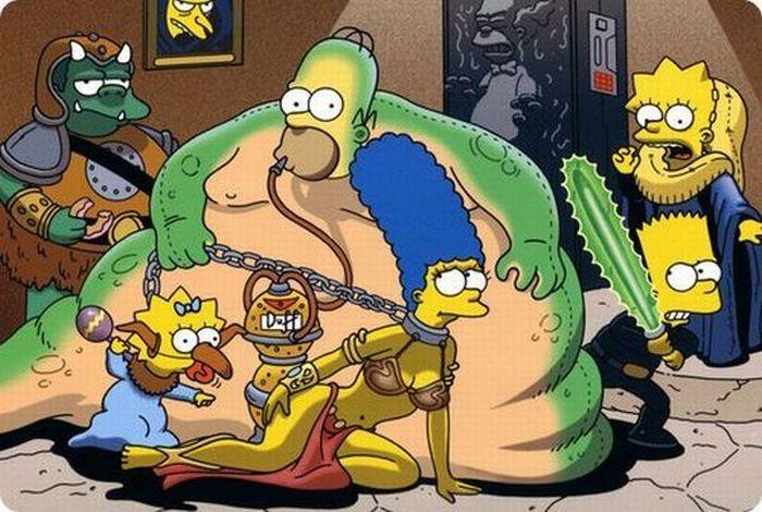 Saliendo de la rutina - Los Simpsons + Yapa