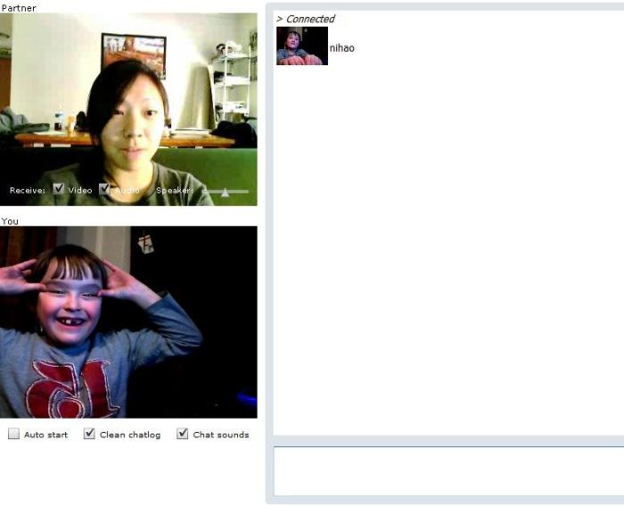 Offensive 8-year-old Boy on Chatroulette (14 pics)