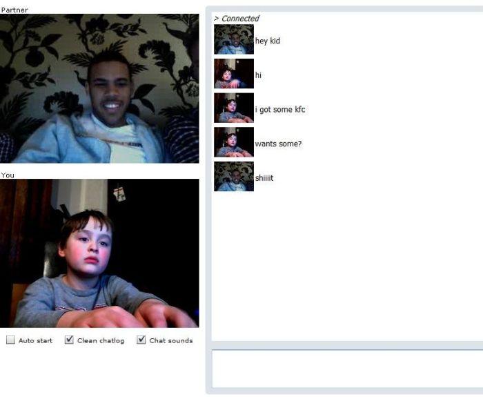 Boys chat