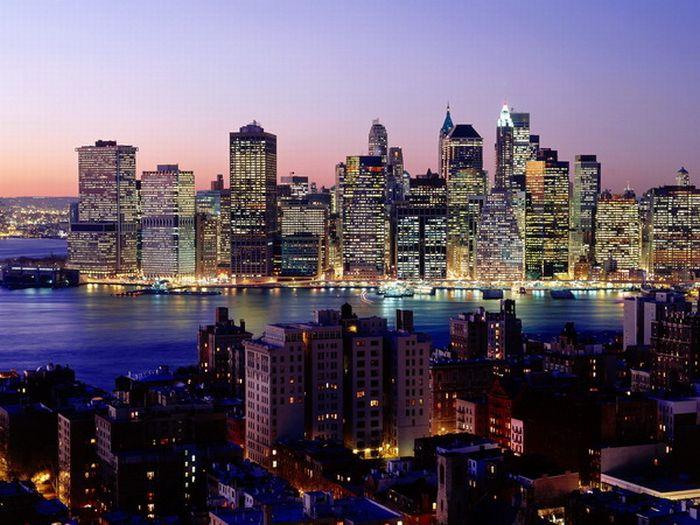 Cities at Night (58 pics)