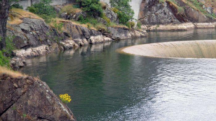glory hole montecello dam