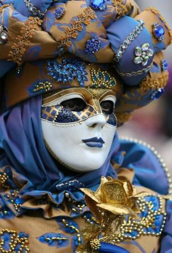 Beautiful Carnival Masks Venice