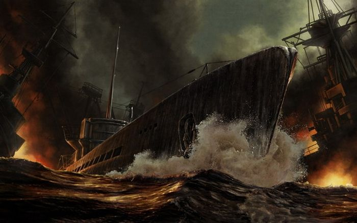 Paintings of Ships (27 pics)