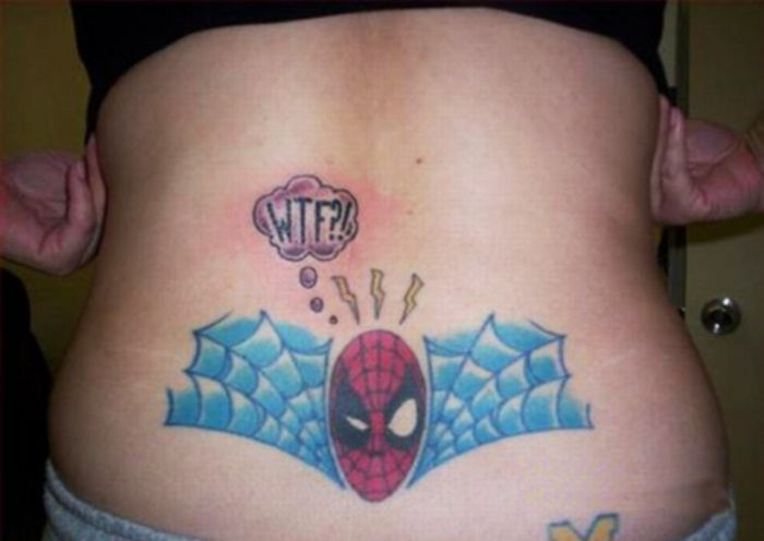 Stupid Belly and Back Tattoos (17 pics)