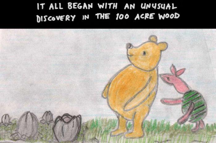 Alien vs Pooh (49 pics)