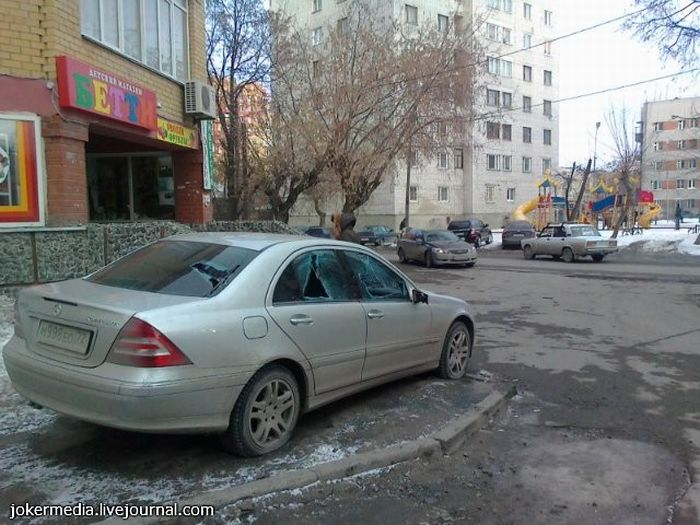 Don't Park on the Sidewalks (3 pics)
