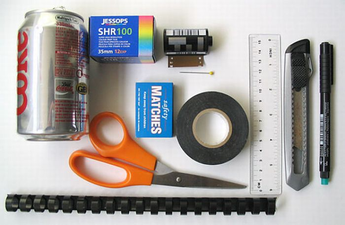 How to Build a Pinhole Camera Using a Matchbox (30 pics)