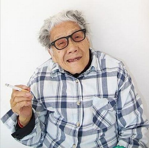 The Coolest Chinese Granny (10 pics)