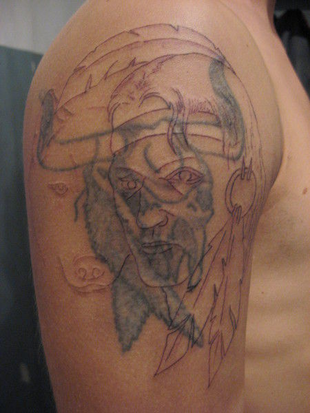 Tattoos Before and After the Work is Finished (28 pics)