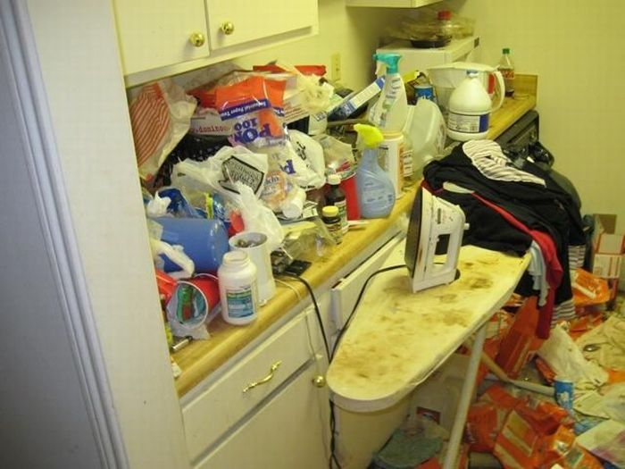 The Filthiest Apartments (35 pics)