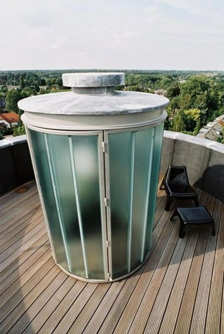 House in a Water Tower (15 pics)