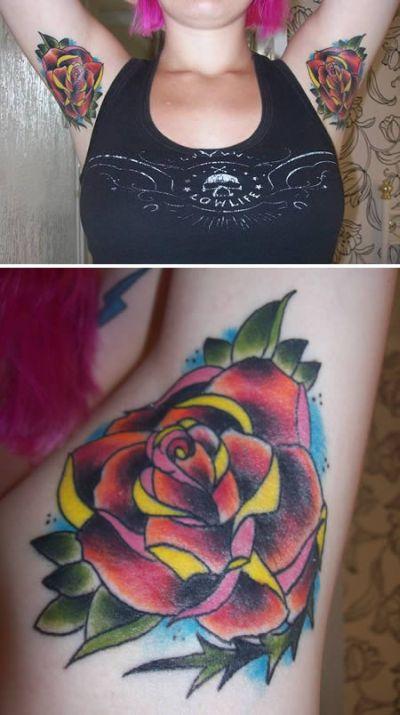 Armpit Tattoos (11 pics)