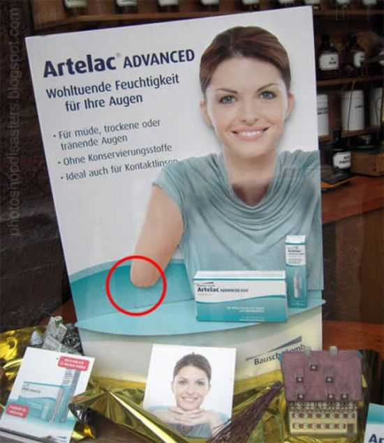 Stupid Photoshop Mistakes (45 pics)