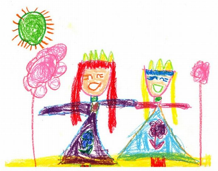 Artwork Based on Child's Drawings (41 pics)