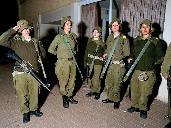 Girls of Israel Army Forces (72 pics)