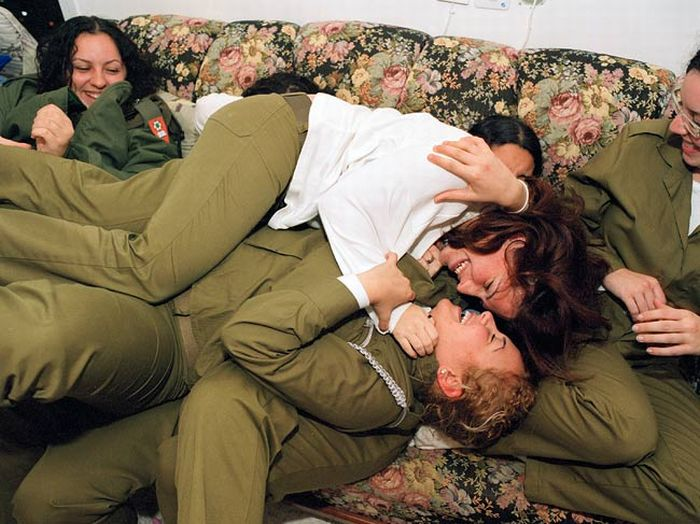 Join told Israeli army girls tgp