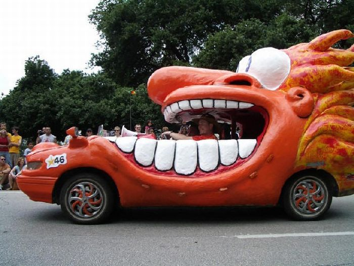 Mutant araçlar, mutant arabalar, araba resimleri, ilginç arabalar, acaip arabalar, şekil arabalar,