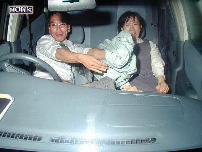 Public japan car sex