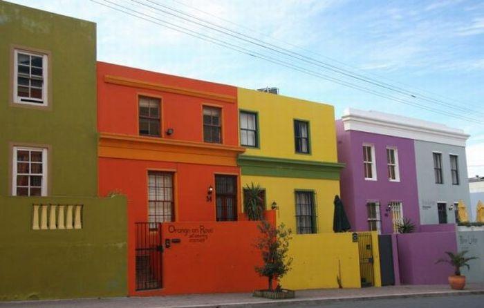 Rainbow Houses (30 pics)
