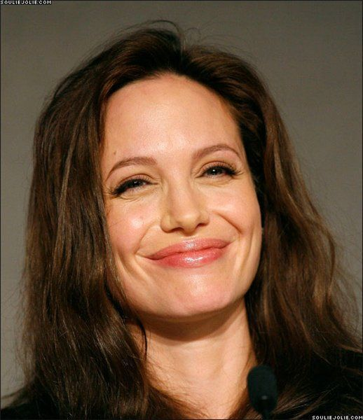 Funny Faces of Angelina Jolie (56 pics)