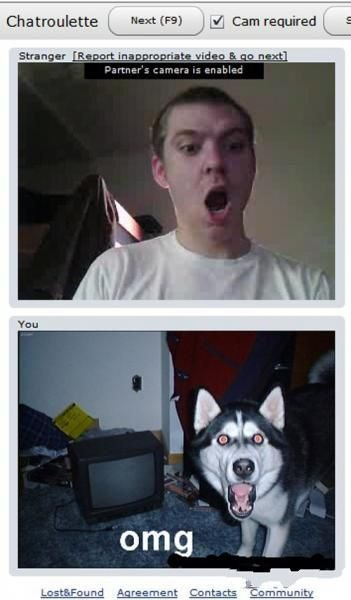 They Found Each Other on Chatroulette.com (20 pics)