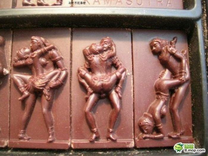 Chocolate Kama Sutra (6 pics)